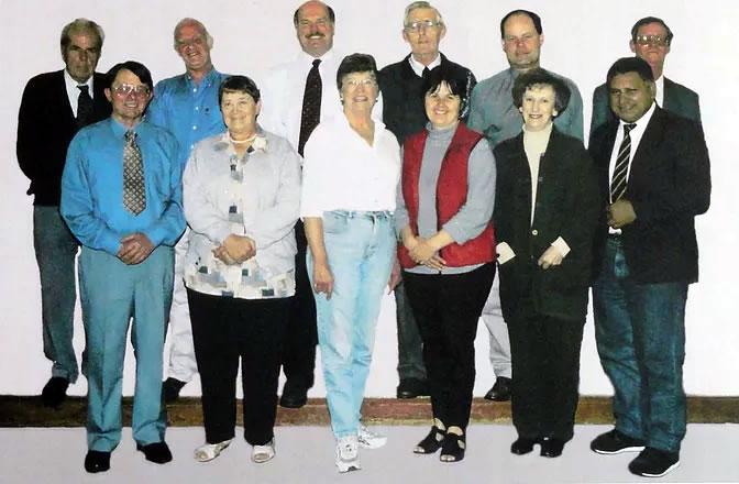 Original 1993 KCHT Board